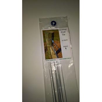 Strainer Post Tie 10 Pack