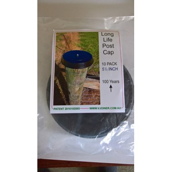 Long Life Post Cap 10 Pack 5 1/2 Inch